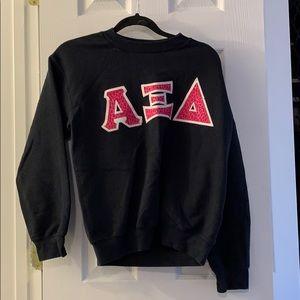 Sweaters - Sorority crew neck -ALPHA XI DELTA